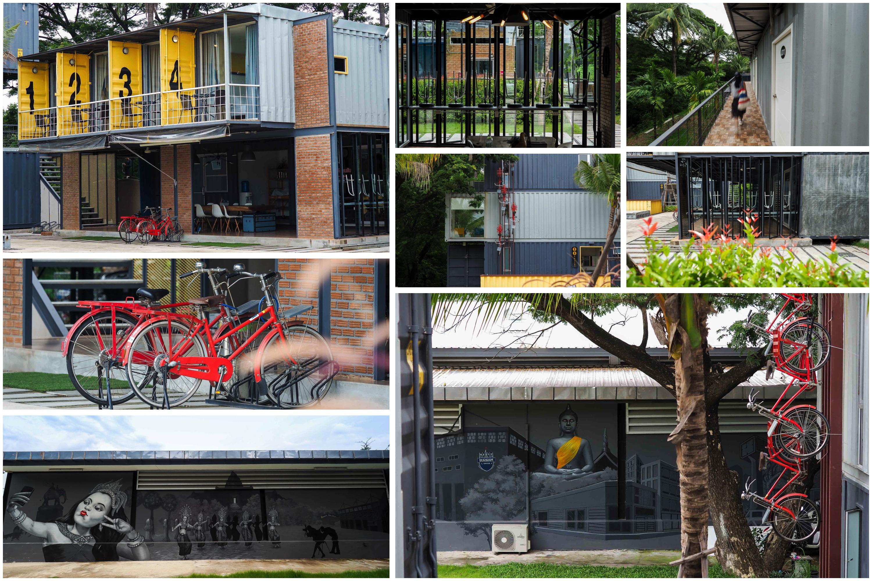 02 ที่พักหลักร้อยบุรีรัมย์ Ducati Bike Box Hostel 005