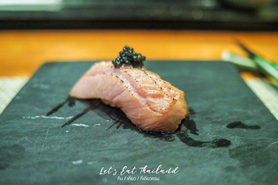 Aburi Otoro YTSB Yellow Tail Sushi Bar Omakase