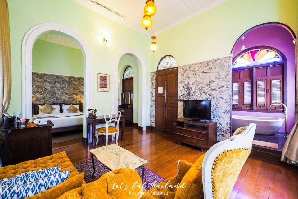 ห้องเจ้าพระยาสวีท Chao phraya Suite พระยาพาลาซโซ Praya Palazzo