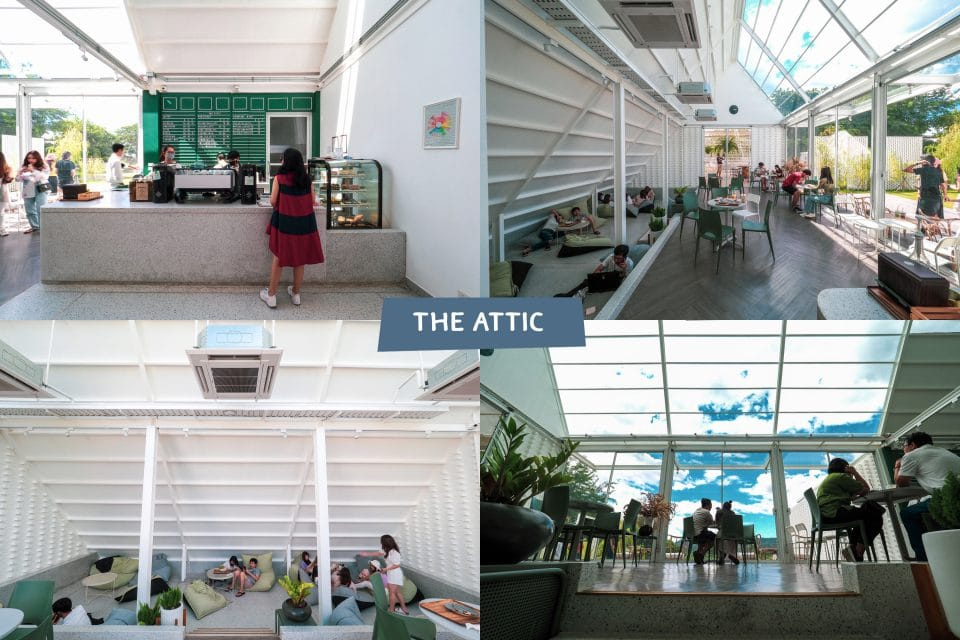 ภายในร้าน The Attic Kan เที่ยวกาญจนบุรี