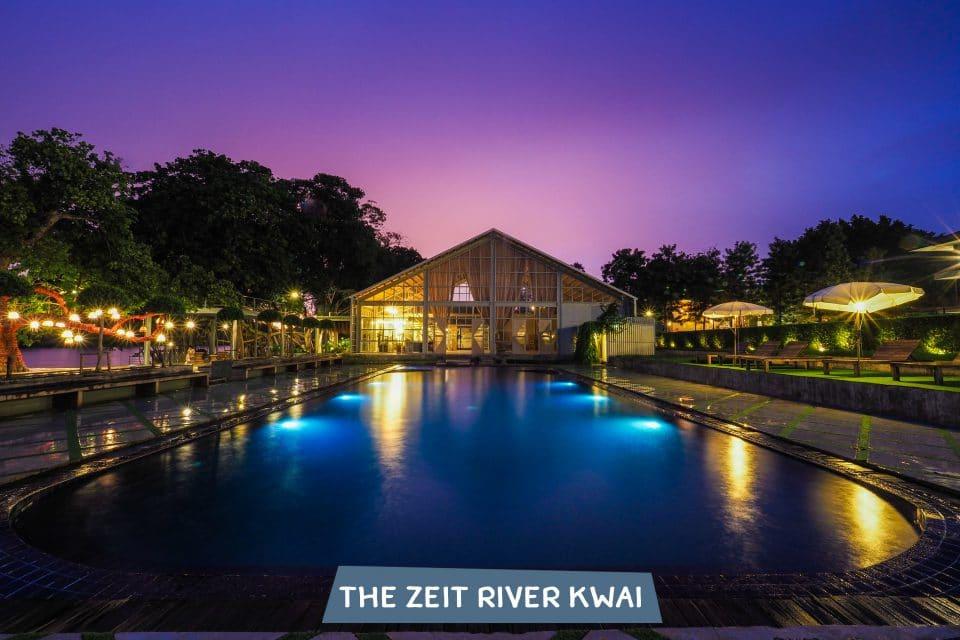 สระว่ายน้ำ The Zeit River Kwai