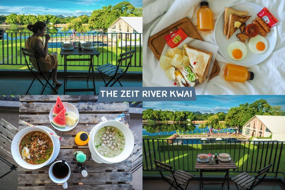 อาหารเช้า The Zeit River Kwai