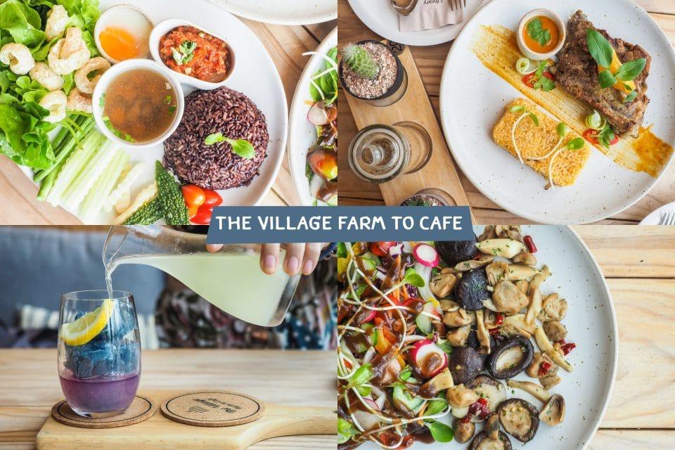 เมนูอาหาร The Village Farm to Cafe